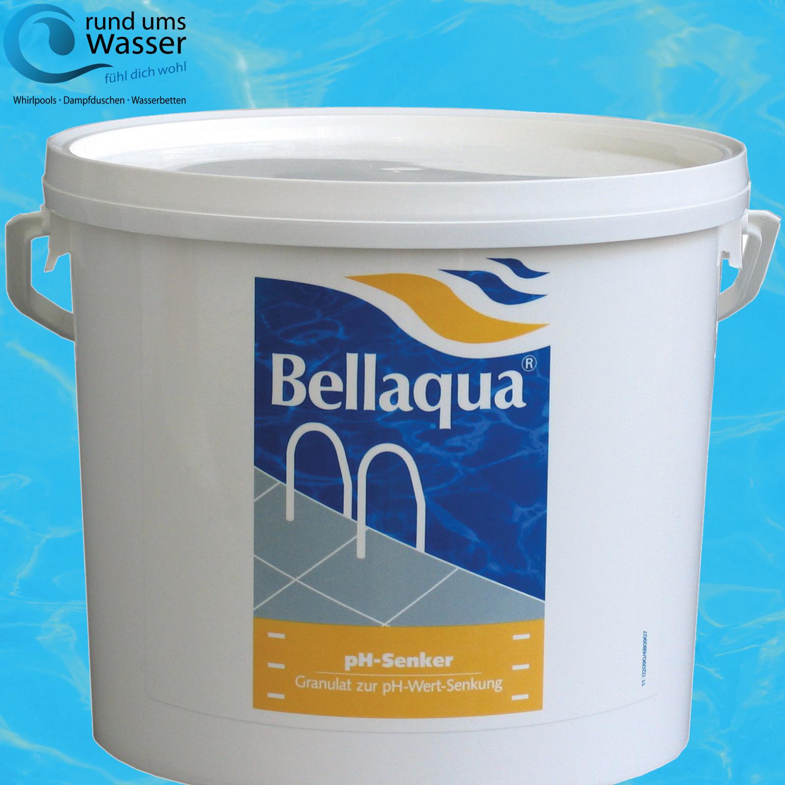 bellaqua ph senker 6kg ph minus pool schwimmbad ph wert regulierung bayrol ebay. Black Bedroom Furniture Sets. Home Design Ideas