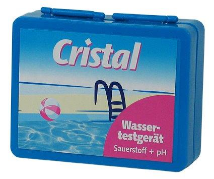 cristal wassertestger t ph o2 pooltester sauerstoff ph wert dpd4 phenol red ebay. Black Bedroom Furniture Sets. Home Design Ideas